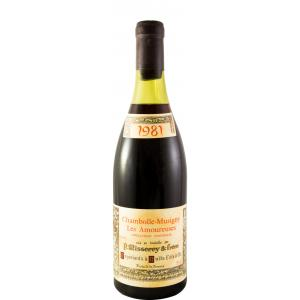 P. Misserey & Frere Les Amoureuses Chambolle Musigny 1981