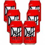 Pack 6 Cans Duff Beer