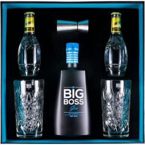 Pack Big Boss W 2 Glas + 2 Tonic Waters