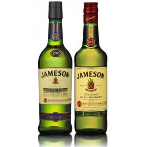 Pack Jameson Irish Signature & Original 2x500ml