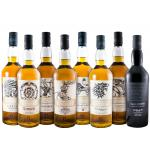 Pack Whiskies Game Of Thrones 8x 75cl