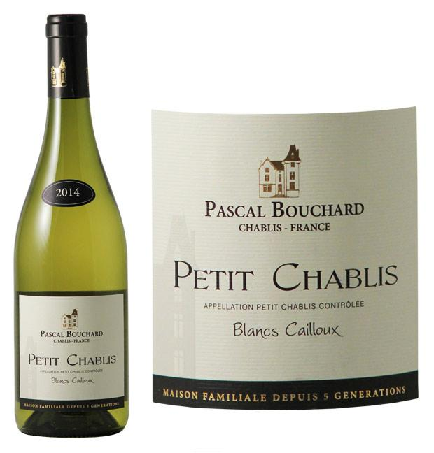 pascal bouchard petit chablis blancs cailloux 2014 wine white. Black Bedroom Furniture Sets. Home Design Ideas