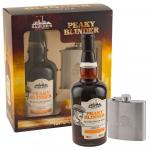 Peaky Blinder Black Spiced & Hip Flask