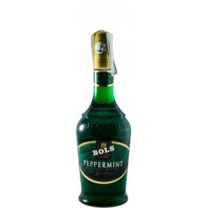 Peppermint Bols Old Bouteille