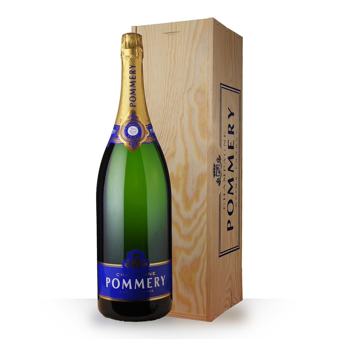 buy pommery brut caisse bois jeroboam at uvinum. Black Bedroom Furniture Sets. Home Design Ideas