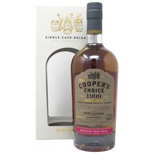 Port Dundas Coopers Choice Single Cask Moscatel Finish 20 Year old 1999