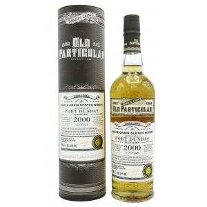 Port Dundas Old Particular Single Grain 20 Year old 2000