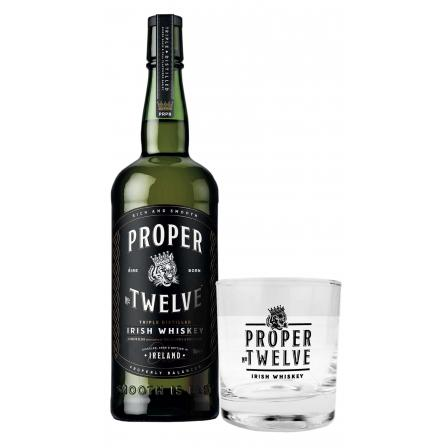 Proper No. Twelve + Branded Glass Tumbler
