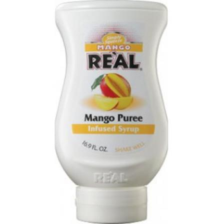 Real Mango Puree Infused Syrup