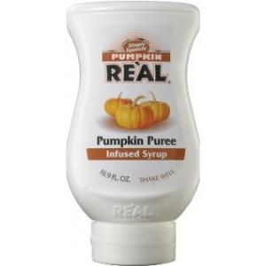 Real Pumpkin Puree Infused Syrup