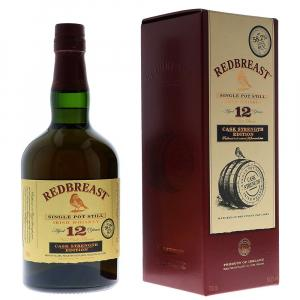 Redbreast 12 Years Single Pot Still Cask Str. + Case