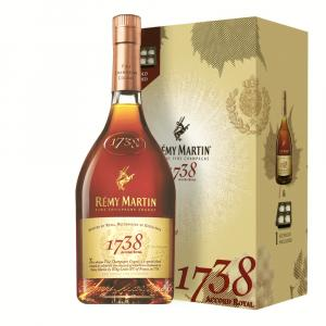 Remy Martin 1738 Accord Royal Cognac 70cl Ice Mould Gift