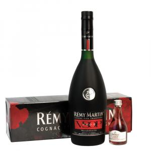 Remy Martin VSOP Cognac 70cl and 1738 Mini Gift