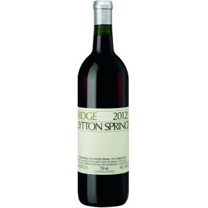 Ridge Estate Lytton Springs Zinfandel 2014