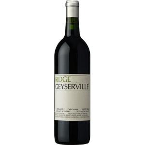 Ridge Estate Ridge Geyserville Alexander Valley 2018