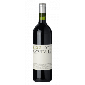 Ridge Vineyards Geyserville 2014