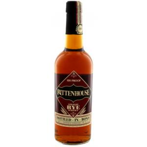Rittenhouse Straight Rye Whisky 100 Proof 75cl