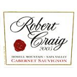 Robert Craig Cellars Howell Mountain Cabernet Sauvignon 2005