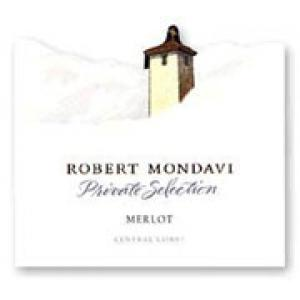Robert Mondavi Private Selection Merlot 2002
