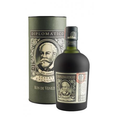 Ron Diplomático 12 Years Reserva Exclusiva Case