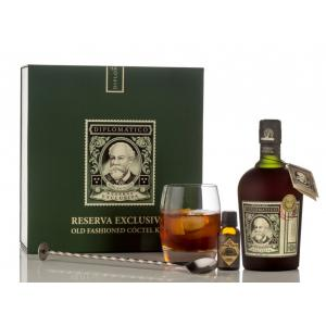 Ron Diplomatico Reserva Exclusiva Pack Ron + Vaso + Cucharilla