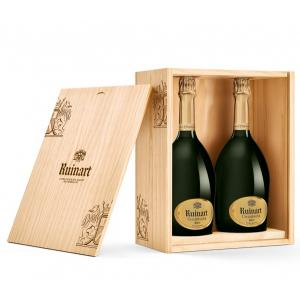 Ruinart Duo Blanc de Blancs In Holzbox