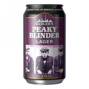 Sadler's Peaky Blinder Craft Lager Can