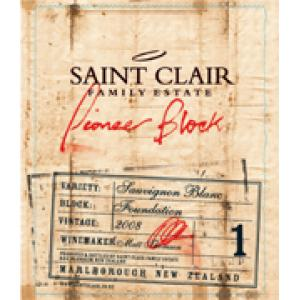 Saint Clair Pioneer Block 1 Foundation Sauvignon Blanc 2008
