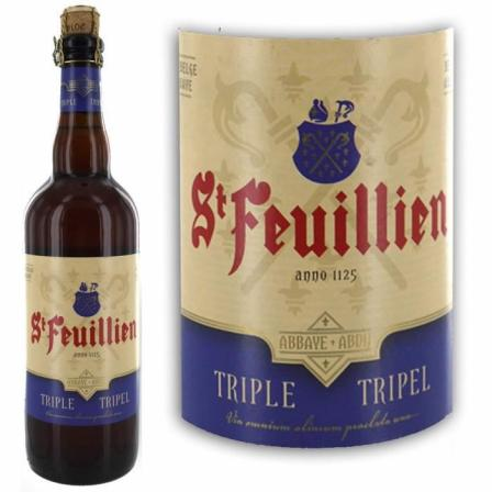 Saint-Feuillien Triple Blonde 75cl