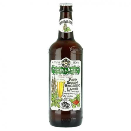 Samuel Smiths Pure Brewed Organic Lager 55cl