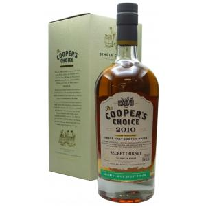 Secret Orkney Cooper's Choice Single Cask 10 Year old 2010