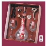 Set Decanting 1 Popy Wine
