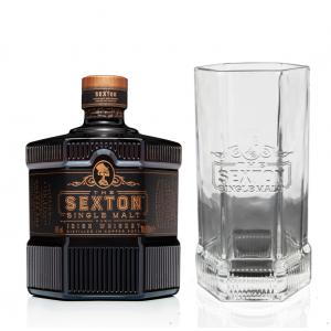 Sexton With Luxury Quality Branded Glass &