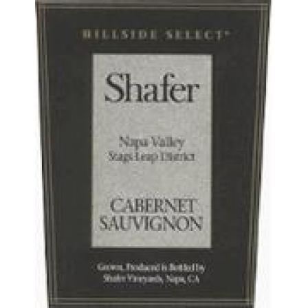 Shafer Hillside Select Cabernet Sauvignon 375ml 1996