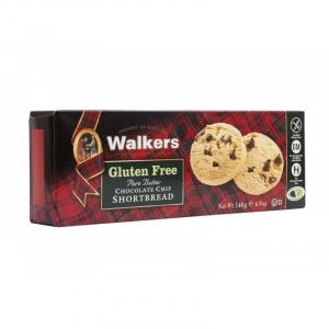 Shortbread con Chips de Chocolate y Sin Gluten Walkers 140g