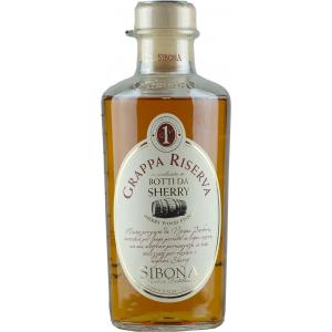 Sibona Grappa Reserve Sherry Wood Finish 50cl