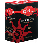 Sicilia Rosso Weinschlauch Ronco Bag in Box 3L