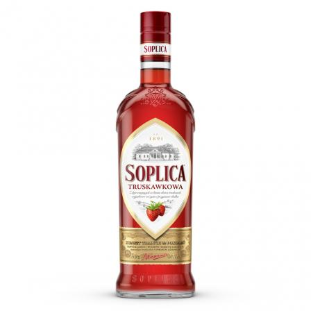 Soplica Strawberry Vodka Liqueur 50cl