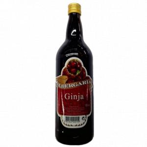 Sour Cherry Liqueur Albergaria With Fruit 1L