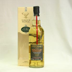 Speymalt from Macallan Distillery Gordon & Macphail 1988