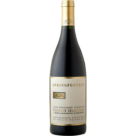 Springfontein Pinotage Terroir Selection Estate Wine Of Origin Walker Bay 2016