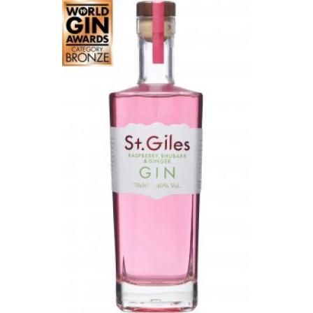 St. Giles Raspberry Rhubarb and Ginger