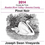 Swan Vineyards Joseph Pinot Noir Cuvée de Trois Russian River Valley 2014