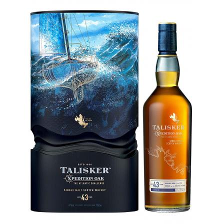 Talisker Xpedition Oak The Atlantic Challenge 43 Year old