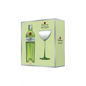 Tanqueray No. Ten Gift Pack With One Coupette Glass Gin
