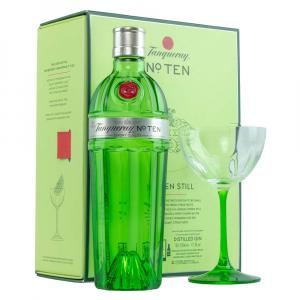 Tanqueray No. Ten70cl Coupette Glass Gift
