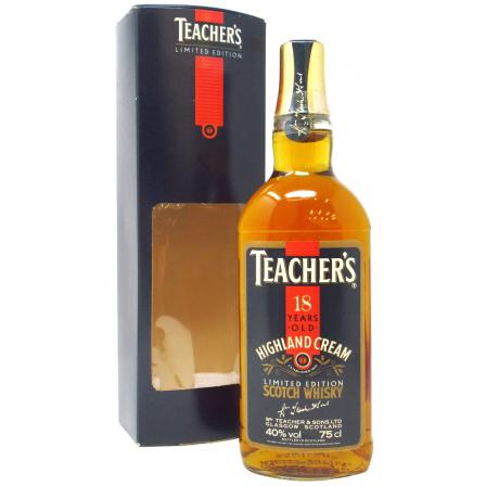 Teacher's Cream Limited Edition 18 Jaren 75cl
