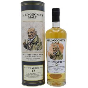 Teaninich Auld Goonsys Single Cask 12 Year old 2008