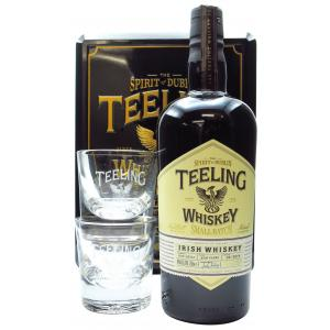 Teeling Co. 2 X Branded Glass Gift Pack & Small Batch