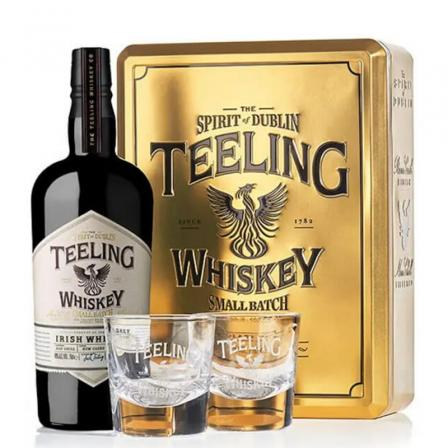 Teeling Small Batch Coffret + 2 Verres